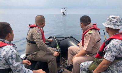 นายทหารพระธรรมนูญของทัพเรือภาคที่ 3 เข้าแจ้งความดำเนินคดีกับผู้เกี่ยวข้อง กรณีการก่อสร้างที่พักกลางทะเล | The Thaiger