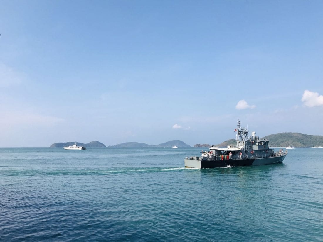 Phuket seastead being removing by Thai Navy today | News by The Thaiger