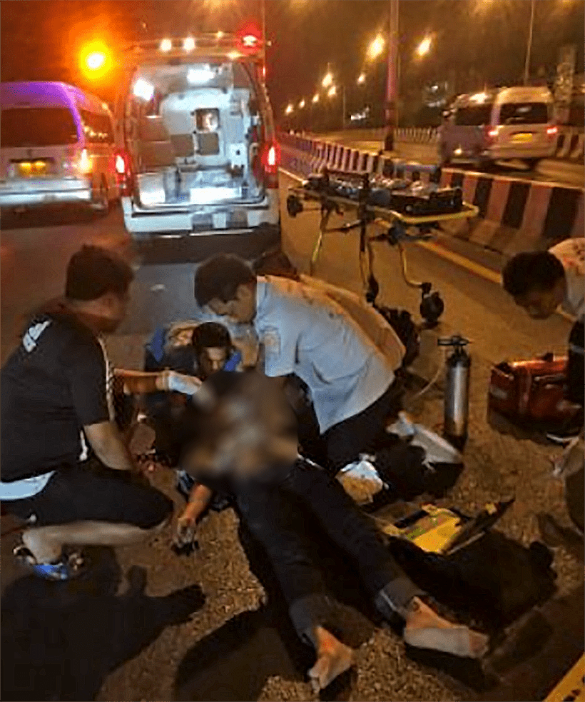Female motorbike driver dies in Bypass Road crash | News by Thaiger