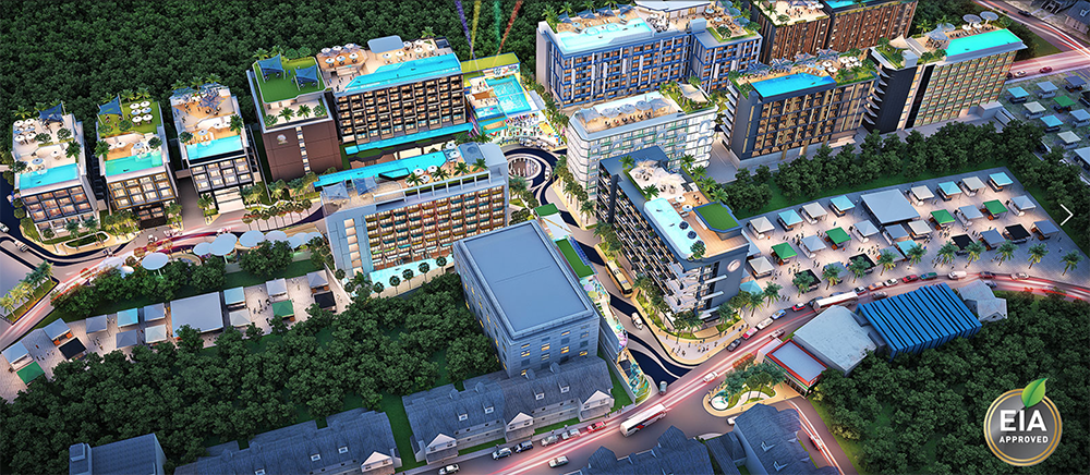 Massive 11 hotel project, surf club and waterpark for Kata, Phuket | News by The Thaiger