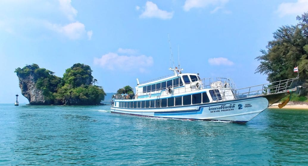 Israeli girl missing after tour boat catches fire and sinks near Krabi   The Thaiger