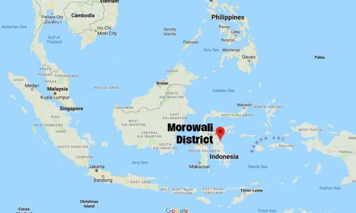 East Sulawesi rocked by 6.8 magnitude tremor - tsunami warning | The Thaiger