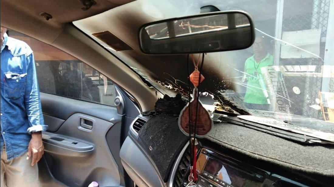Beware exploding phones - warning about leaving phones in hot cars | News by The Thaiger