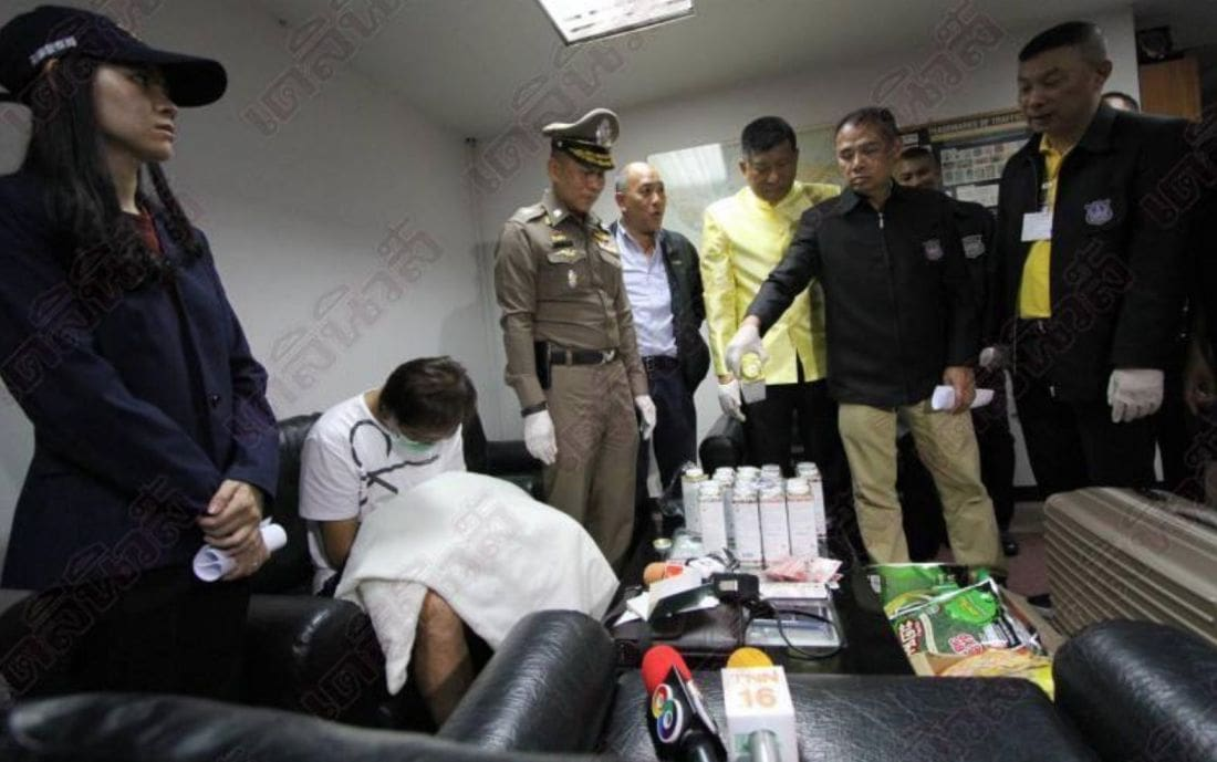 Taiwanese man arrested at Don Mueang Airport with 7 kilos of heroin | News by Thaiger