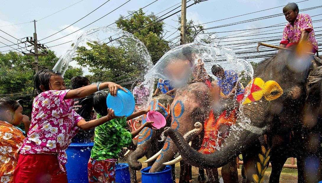 Songkran around Thailand – where can you get wet? | The Thaiger