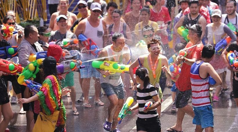 Songkran around Thailand - where can you get wet? | News by The Thaiger