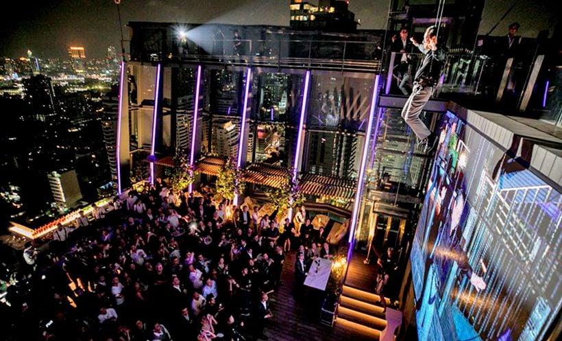 Hyatt Regency open new Spectrum Rooftop Bar in Bangkok | The Thaiger