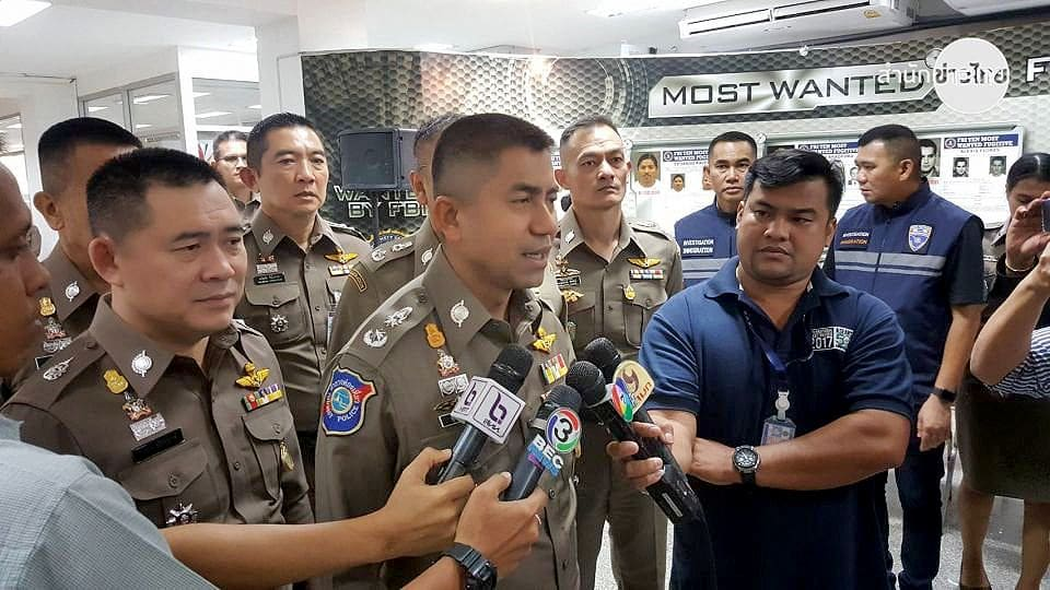 Surachate reports to the Royal Thai Police HQ | The Thaiger