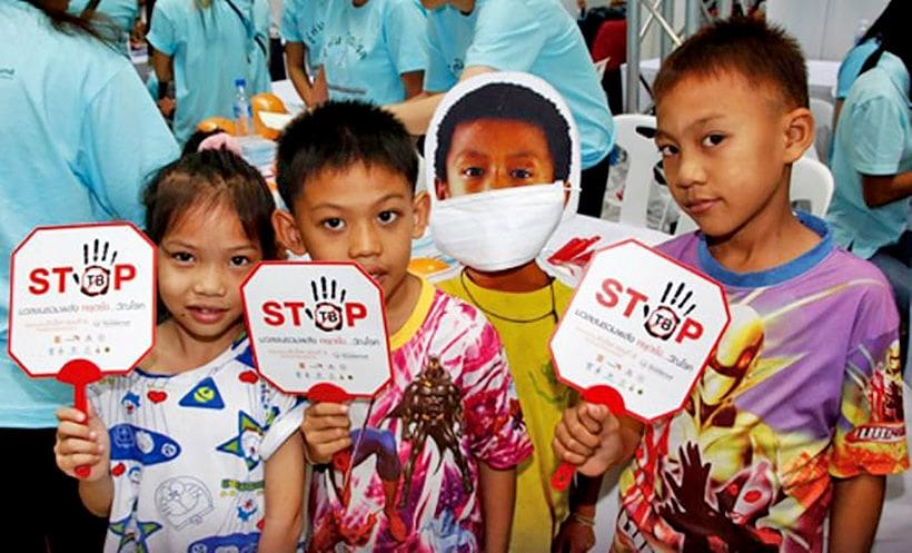 Thailand still in the world's Top 14 for TB cases | News by The Thaiger