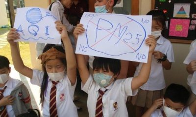 Alarmingly high PM2.5 levels found in Chiang Mai, INSIDE a safety zone building | The Thaiger