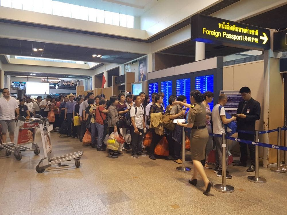 Freak storm batters Don Mueang Airport, Bangkok | News by The Thaiger