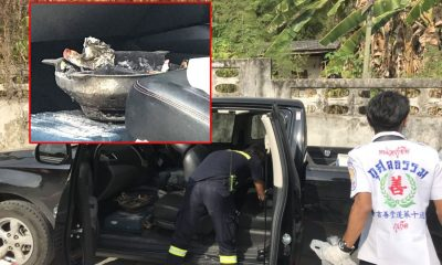 Man found dead in pickup with charcoal burner in Rassada, Phuket | The Thaiger