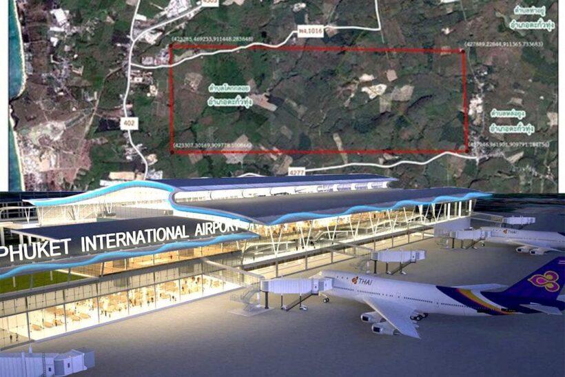 เปิดแปลน แผนสร้างสนามบินนานาชาติภูเก็ต แห่งที่ 2 โคกกลอย, พังงา   The Thaiger