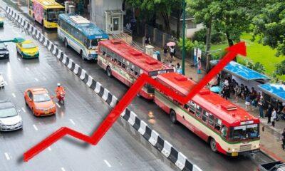 เช็คให้ชัวร์ รถเมล์แต่ละสีขึ้นค่าโดยสารกี่บาท – 22 เม.ย. ปรับขึ้นราคาวันแรก | The Thaiger