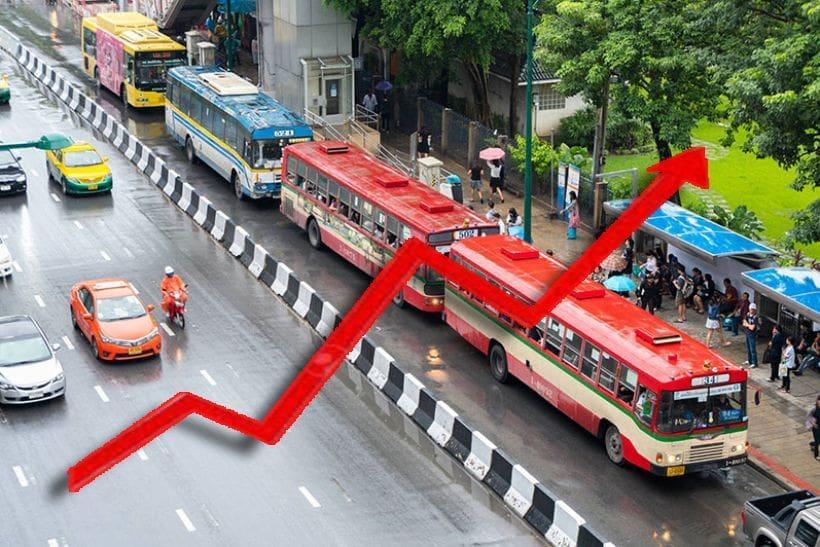 เช็คให้ชัวร์ รถเมล์แต่ละสีขึ้นค่าโดยสารกี่บาท – 22 เม.ย. ปรับขึ้นราคาวันแรก   The Thaiger