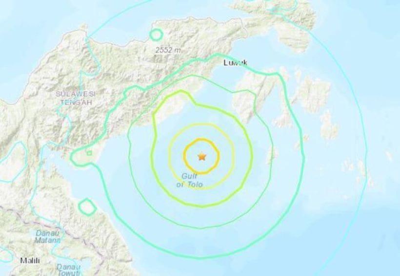 ยกเลิกเตือนภัยสึนามิ แผ่นดินไหวอินโดนิเซีย 6.8 แมกนิจูด   The Thaiger