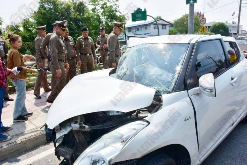 Businessman could face death penalty for DUI murder of policeman | The Thaiger