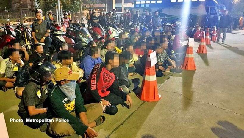 Regular street racing crackdown nets 79 motorbikes | The Thaiger
