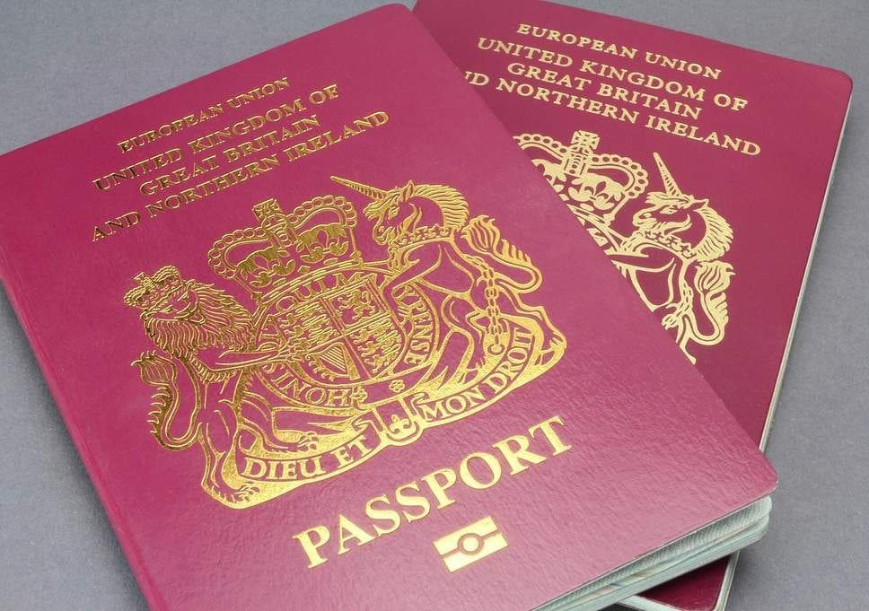 British passports have removed the words 'European Union' | The Thaiger