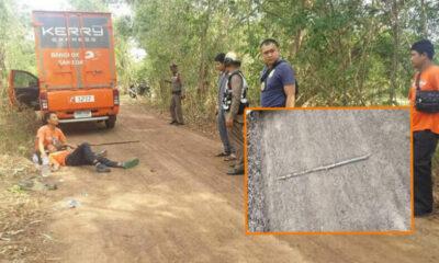 หนุ่มเคอรี่ดวงซวย จอดรถฉี่ข้างทาง ถูกคนร้ายทุบหัว ชิงทรัพย์ | The Thaiger