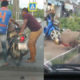 Netizens say the policeman's drunk. Police chief says he 'is sick'. VIDEO | The Thaiger