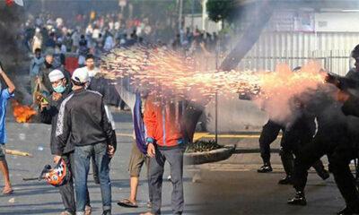 อินโดนีเซีย: ภาพกรุงจาการ์ต้าโกลาหล ผู้คนประท้วงหลังเลือกตั้ง ตายแล้ว 6 ศพ [คลิป] | The Thaiger