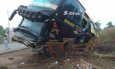 21 injured in Nakhon Sawan bus accident   Thaiger