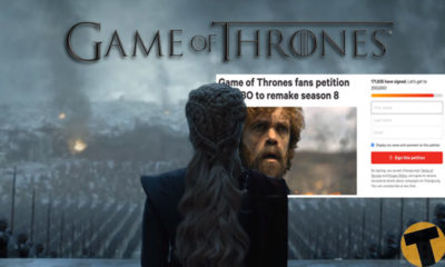 แฟนเกม Game of Thrones ตั้งแคมเปญเรียกร้อง HBO ให้รีเมคซีซั่นที่ 8 ใหม่ | The Thaiger