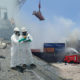 อึ้ง ไฟไหม้สารเคมีท่าเรือแหลมฉบัง พบสารเคมี 325 ตัน | The Thaiger