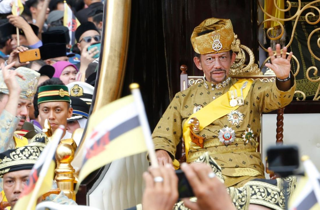 Brunei backs down on gay sex death penalty | The Thaiger