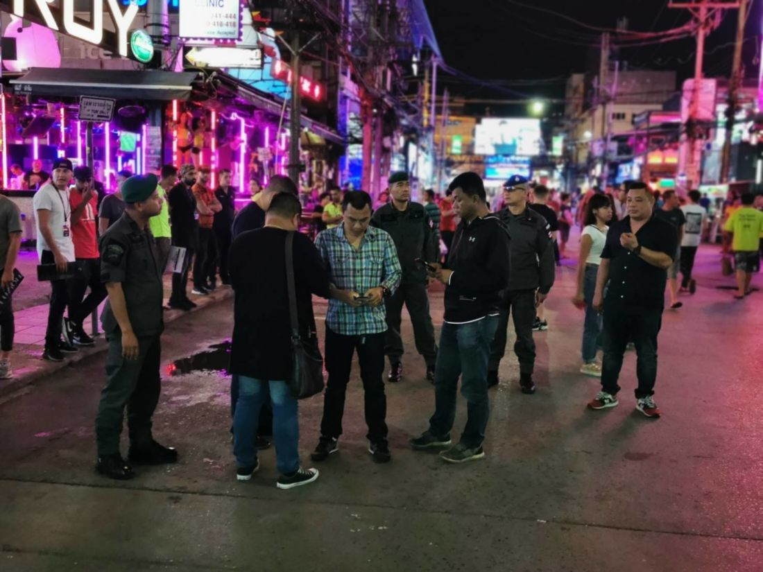Suspect charged with murder after stabbing in Patong restaurant | News by The Thaiger