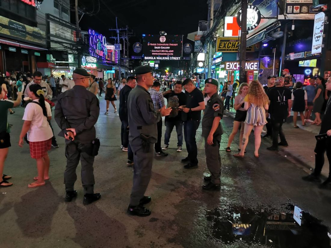 Suspect charged with murder after stabbing in Patong restaurant | The Thaiger