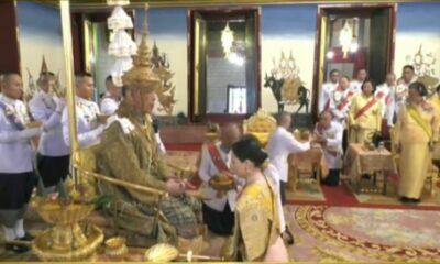 พระบาทสมเด็จพระเจ้าอยู่หัว สถาปนาสมเด็จพระราชินีสุทิดา เป็นสมเด็จพระนางเจ้าสุทิดา พัชรสุธาพิมลลักษณ์ พระบรมราชินี | The Thaiger