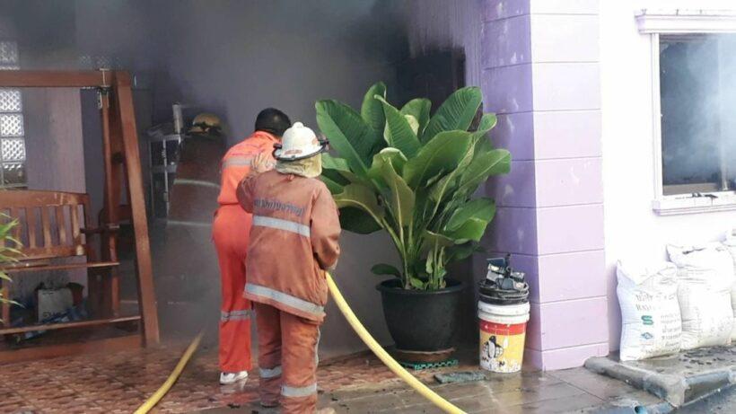 Fire destroys apartment in Rassada   News by Thaiger