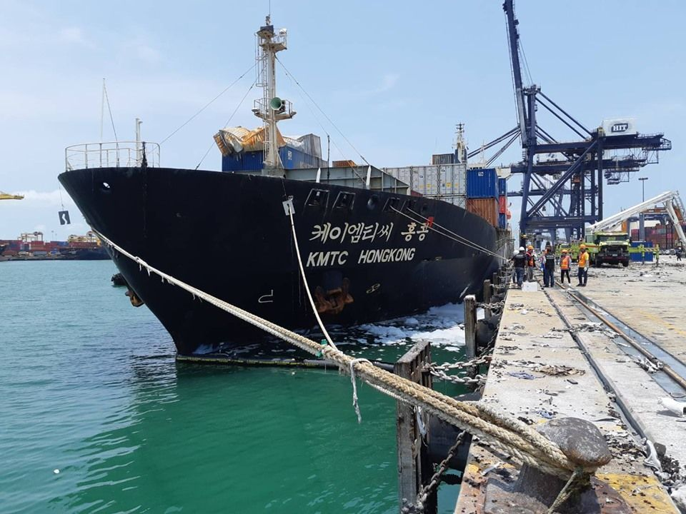 Port fire damage exceeds 100 million baht | News by Thaiger