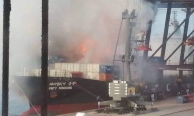 25 workers injured after container explosion at Laem Chabang Port | The Thaiger