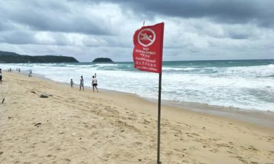 Phuket lifeguard service warning of strong currents along Phuket beaches | The Thaiger