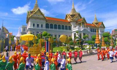 หมายกำหนดการพระราชพิธีบรมราชาภิเษก วันที่ 3 พฤษภาคม 2562 | The Thaiger