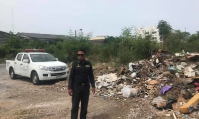 Mounds of trash found dumped near condo in Pattaya | The Thaiger