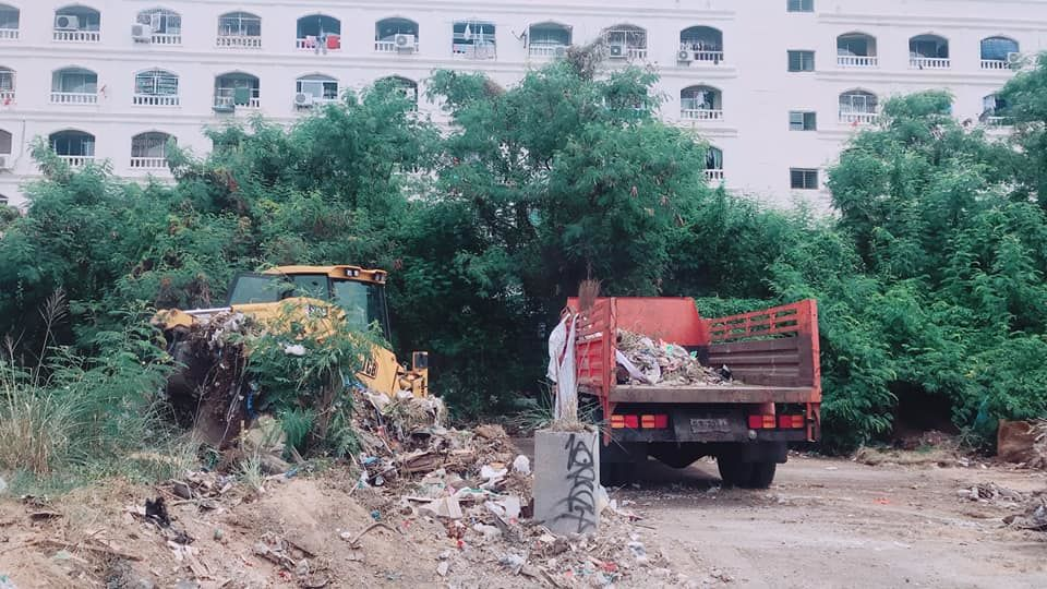 Mounds of trash found dumped near condo in Pattaya | News by The Thaiger