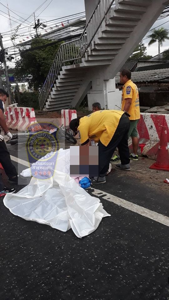 Motorbike driver dies after colliding with truck in Thalang | News by Thaiger
