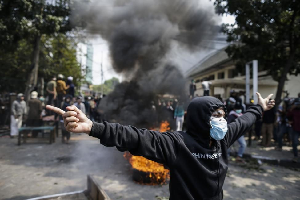 Second night of violence over election results – Jakarta | The Thaiger