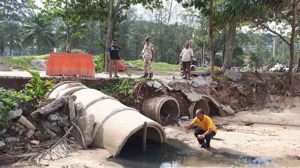 Deja vu: Dirty, smelly, blackwater flows into the Andaman Sea, again | News by The Thaiger