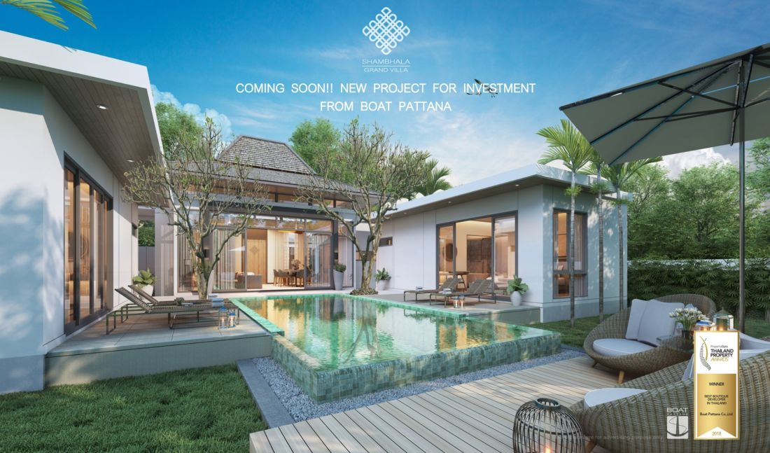 Boat Pattana's Cherng Talay villa project reports strong pre-sales | The Thaiger