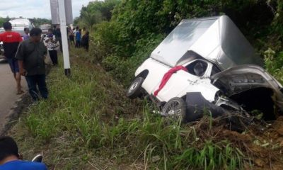 Three dead, two injured as truck collides with motorbike in Krabi   The Thaiger