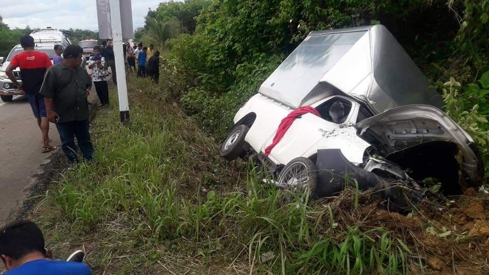 Three dead, two injured as truck collides with motorbike in Krabi | The Thaiger