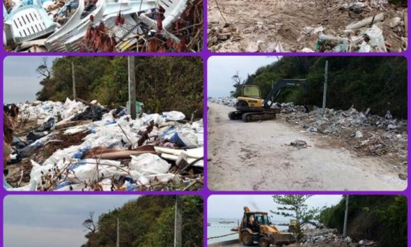 Rubbish on Chon Buri beaches cleared after social media complaints   The Thaiger