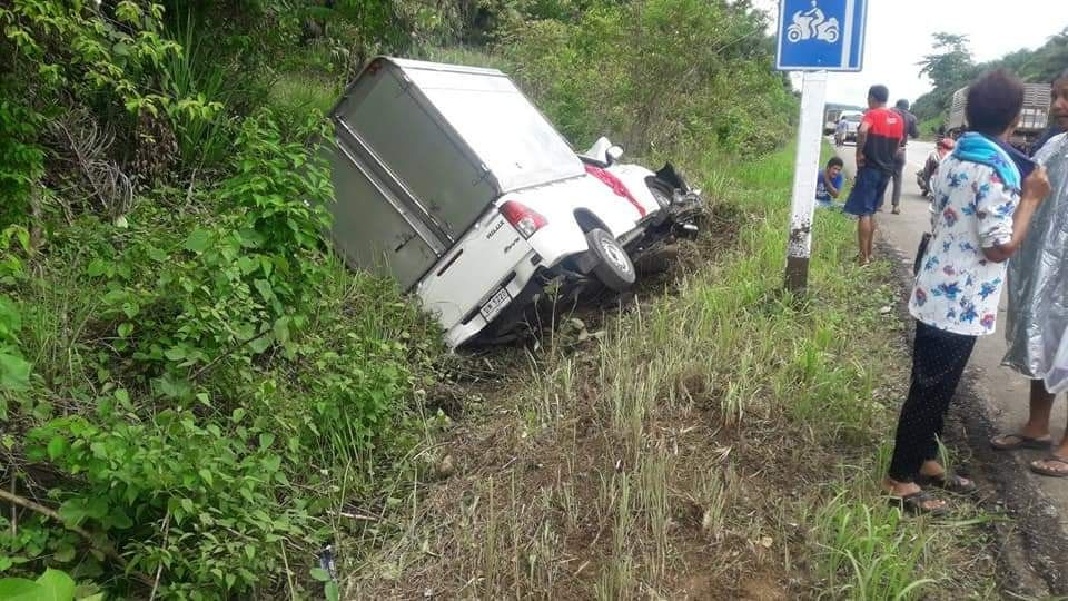 Three dead, two injured as truck collides with motorbike in Krabi | News by The Thaiger
