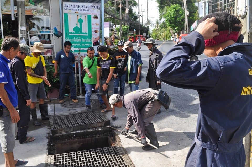 Patong municipality reports untreated wastewater from Kalim hotel to police - VIDEO | News by The Thaiger