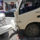 Six vehicles damaged, one person injured, as truck swipes parked cars in Phuket | The Thaiger